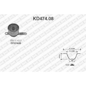 SNR KD47408 Комплект ремня ГРМ