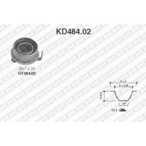 SNR KD484.02 Роликовий модуль натягувача ременя (ролик, ремінь)