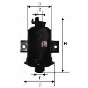 Топливный фильтр s1560b sofima - TOYOTA COROLLA (_E10_) седан 1.3 XLI 16V (EE101)