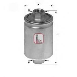 SOFIMA S 1741 B Топливный фильтр