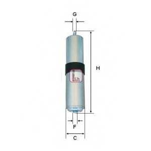 SOFIMA S1857B Фiльтр паливний