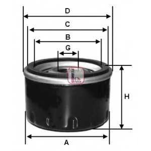 Масляный фильтр s1880r sofima - FORD FIESTA I (GFBT) Наклонная задняя часть 0.9