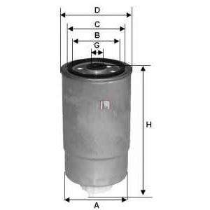SOFIMA S5H2ONR Фільтр палива