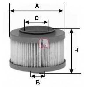Топливный фильтр s6013ne sofima - CHRYSLER VOYAGER IV (RG) вэн 2.5 CRD