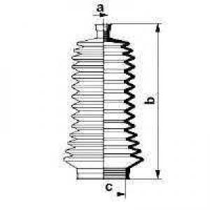 SPIDAN (GKN) 83846 Пыльник рулевого механизма