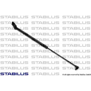 STABILUS 015058 Упругий элемент, крышка багажника / помещения для груза