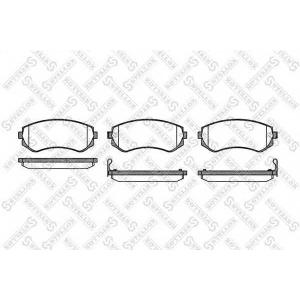 STELLOX 328 012-sx Колодки дисковые