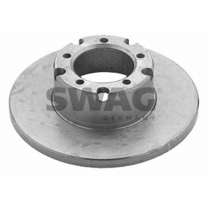 SWAG 10904876 Brake disc
