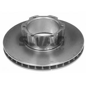 SWAG 10907508 Brake disc
