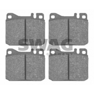 SWAG 10916045 Brake Pad