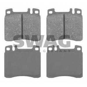 SWAG 10916249 Brake Pad