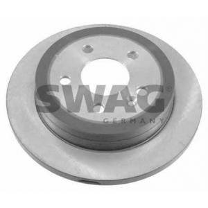 SWAG 10921923 Brake disc