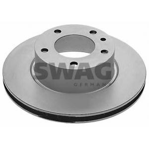 SWAG 20904440 Brake disc