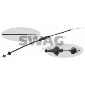 SWAG 30931328 Clutch bowden