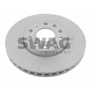 SWAG 32922902 Тормозной диск вентилируемый передний