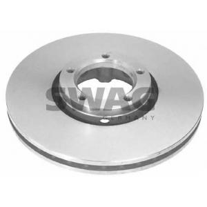 SWAG 50905646 Brake disc
