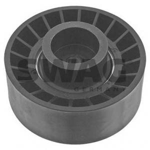 SWAG 50924407 Паразитный / ведущий ролик, поликлиновой ремень