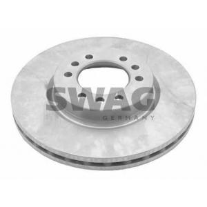 SWAG 53929159 Brake disc