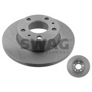 SWAG 53929160 Brake disc