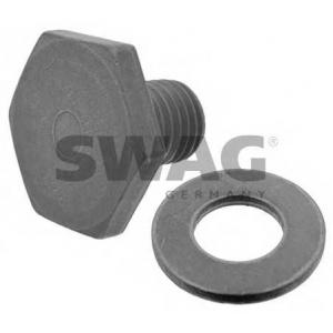SWAG 62938218 Пробка маслосливного отверстия с уплотнительным кольцом Citr BERLINGO