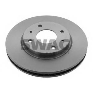 SWAG 80928441 Тормозной диск вентилируемый передний