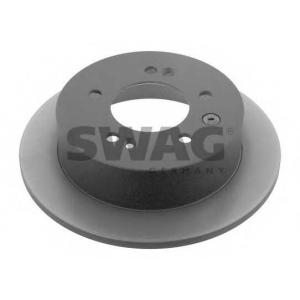 SWAG 90932579 Brake disc