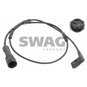 Сигнализатор, износ тормозных колодок 99905113 swag - OPEL OMEGA A (16_, 17_, 19_) седан 1.8 N