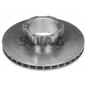 SWAG 99907511 Brake disc
