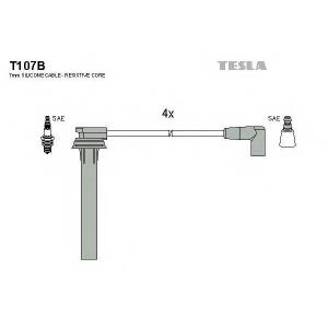 TESLA T107B Комплект проводов зажигания