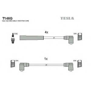 TESLA T146G Кабель зажигания, к-кт TESLA Ford 85-94
