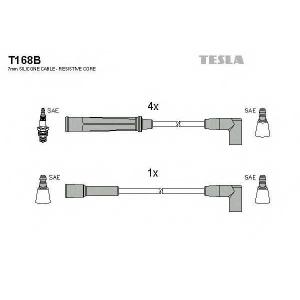 TESLA T168B Кабель зажигания, к-кт TESLA Opel Kadet 79-93