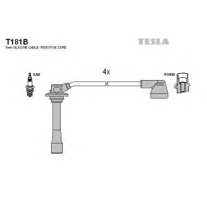 TESLA T181B Кабель зажигания, к-кт TESLA Mazda 626 1,8;2,0 97-02