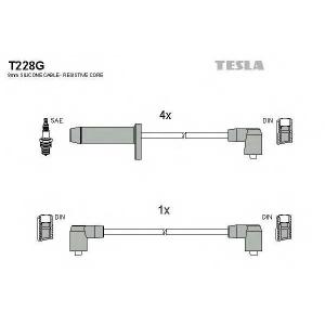 TESLA T228G Кабель зажигания, к-кт TESLA Ford Scorpio, Sierra 85-94 2,0