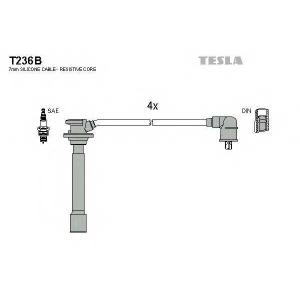 TESLA T236B Кабель зажигания, к-кт TESLA Kia 00- 1,4;1,5;1,6