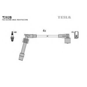 TESLA T282B Кабель зажигания, к-кт TESLA Opel Astra G 1.6 Z16SE,X16SZR