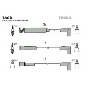 TESLA T287B Кабель зажигания, к-кт TESLA Opel Vectra 88-95 1,6