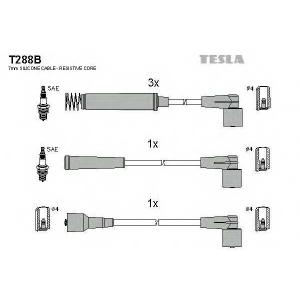 TESLA T288B Кабель зажигания, к-кт TESLA Opel Vectra,Corsa, Combo 82-93 1,2;1,4