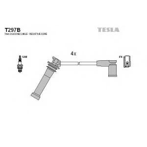 TESLA T297B Кабель зажигания, к-кт TESLA Mazda 6 02-1,8;2,0;2,3