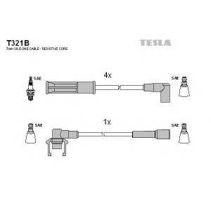 TESLA T321B Кабель зажигания, к-кт TESLA Renault 88- 1,2;1,4