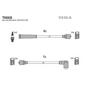 TESLA T464G Кабель зажигания, к-кт TESLA Ford Granada 79-85 2,0