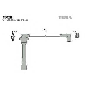 TESLA T502B Кабель зажигания ккт TESLA Mitsubishi 9116;18;20