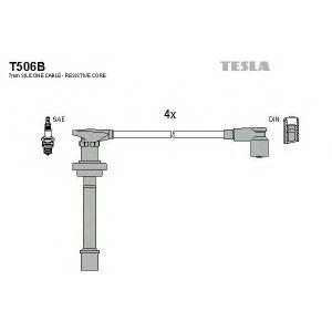 TESLA T506B Кабель зажигания, к-кт TESLA Nissan Almera,Primera 96- 2,0