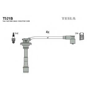TESLA T521B Кабель зажигания, к-кт TESLA