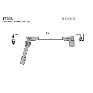 TESLA T629B Кабель зажигания, к-кт TESLA Opel 91-03 1,2;1,4;1,6