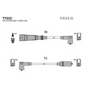 TESLA t703c Провода высоковольтные