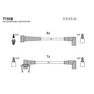 TESLA T705B Кабель зажигания, к-кт TESLA Renault Super,19,21 86-95 1,7;1,9