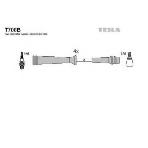 TESLA T708B Кабель зажигания, к-кт TESLA