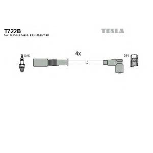 TESLA T722B Кабель зажигания, к-кт TESLA Fiat, Lancia 91- 1,1;1,2