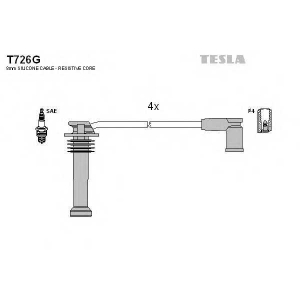 TESLA T726G Кабель зажигания, к-кт TESLA Ford 98-2004 1,6;1,8;2,0