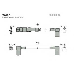 TESLA T741C Кабель зажигания, к-кт TESLA Mersedes 85- 2,6;3,0